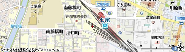 石川県七尾市藤橋町(イ)周辺の地図