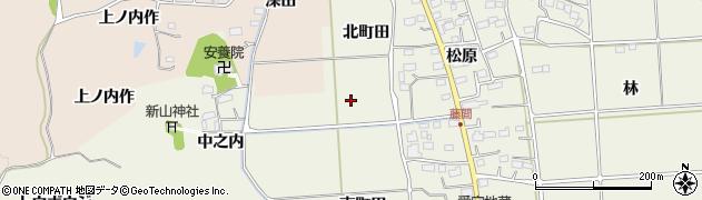 福島県いわき市平藤間(北町田)周辺の地図