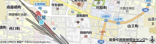 石川県七尾市本府中町(ハ)周辺の地図