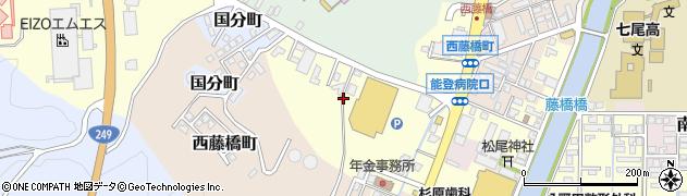 石川県七尾市藤橋町(酉)周辺の地図