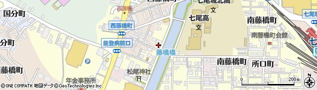 石川県七尾市藤橋町(未)周辺の地図