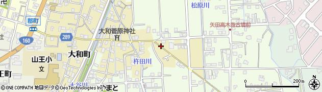 石川県七尾市大和町(ヘ)周辺の地図