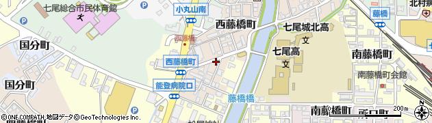 石川県七尾市西藤橋町(未)周辺の地図
