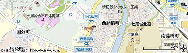 石川県七尾市津向町(イ)周辺の地図