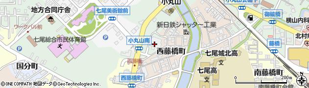 石川県七尾市小島町(テ)周辺の地図