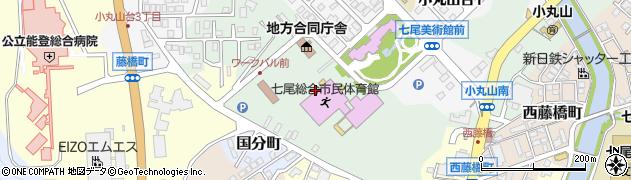石川県七尾市小島町(西)周辺の地図