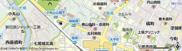 石川県七尾市御祓町(子)周辺の地図