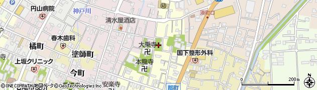 西佛寺周辺の地図
