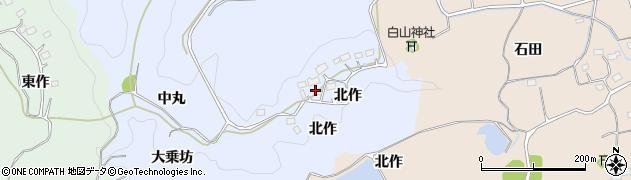 福島県いわき市平上大越(大乗坊)周辺の地図