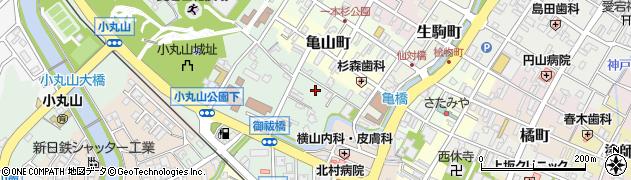 石川県七尾市馬出町(ハ)周辺の地図