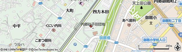 福島県いわき市内郷高坂町(砂子田)周辺の地図