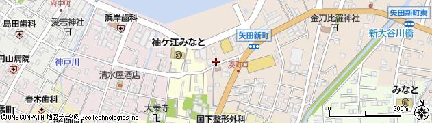 石川県七尾市矢田新町(イ)周辺の地図