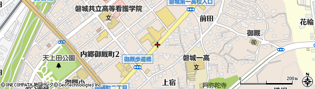 国道6号線周辺の地図