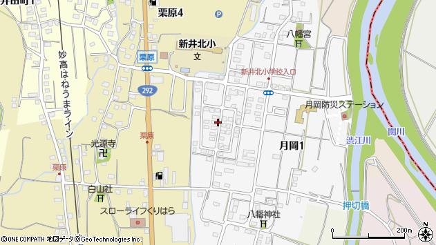 〒944-0003 新潟県妙高市月岡の地図