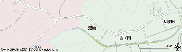 福島県いわき市平菅波(湯崎)周辺の地図