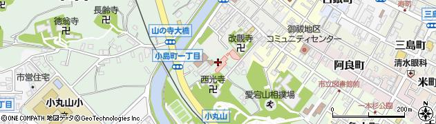 石川県七尾市小島町(ニ)周辺の地図