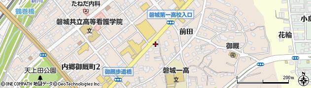 報徳観光周辺の地図