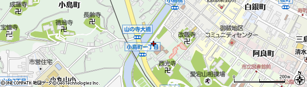 石川県七尾市小島町西部周辺の地図