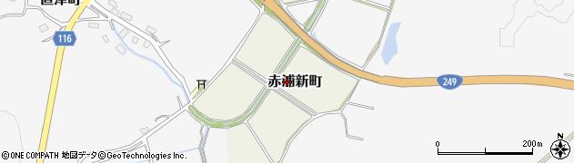 石川県七尾市赤浦新町周辺の地図