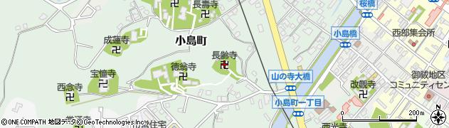長齢寺周辺の地図
