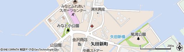 石川県七尾市矢田新町(ヘ)周辺の地図