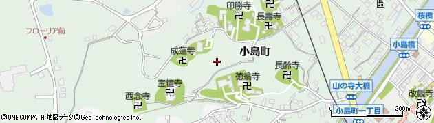 石川県七尾市小島町周辺の地図