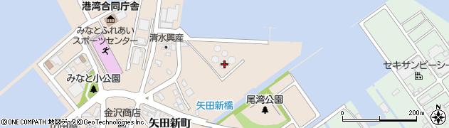 石川県七尾市矢田新町(乙)周辺の地図