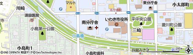 福島県いわき市平(梅本)周辺の地図