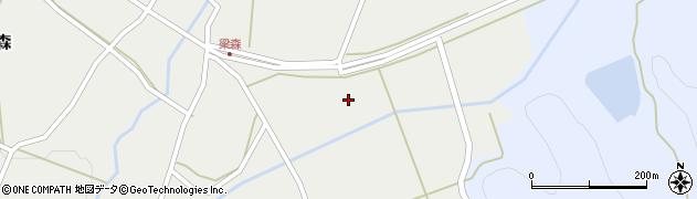 福島県白河市表郷梁森(返り町)周辺の地図