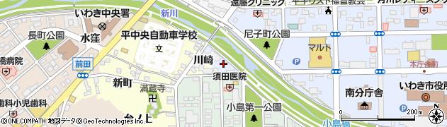 福島県いわき市平(橋下)周辺の地図