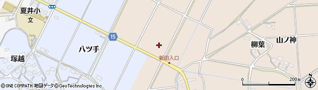 福島県いわき市平下大越(留塚)周辺の地図