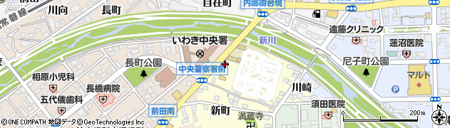 福島県いわき市内郷小島町(天ノ田)周辺の地図