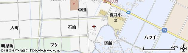 福島県いわき市平荒田目(石崎)周辺の地図
