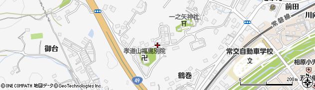 福島県いわき市内郷御台境町(六反田)周辺の地図