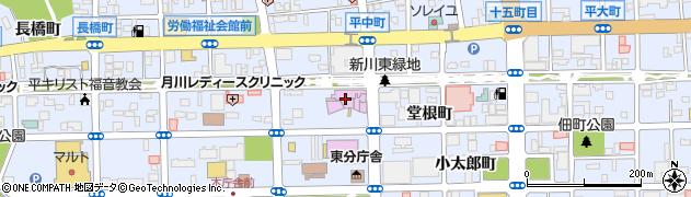いわき市 すこやか教育相談周辺の地図