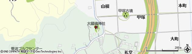 大国魂神社周辺の地図