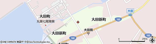 石川県七尾市大田新町(イ)周辺の地図