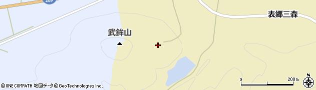 福島県白河市表郷三森(都々古山)周辺の地図