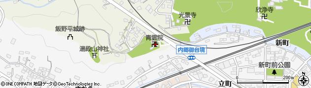 青雲院周辺の地図