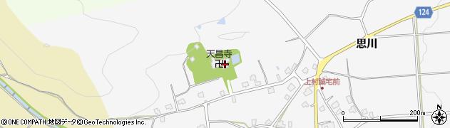 天昌寺周辺の地図