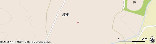 福島県白河市表郷番沢(鹿ノ内)周辺の地図