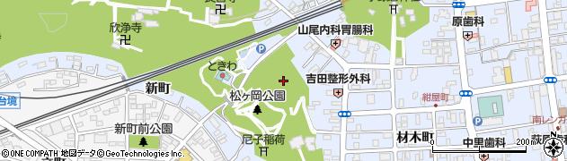 福島県いわき市平(菅ノ沢)周辺の地図