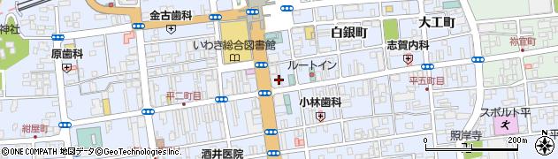 アイランド薬局いわき駅前店周辺の地図