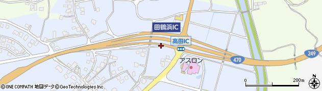 石川県七尾市高田町(ト)周辺の地図