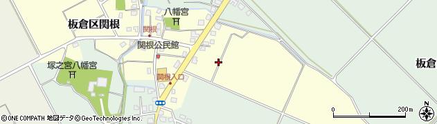 新潟県上越市板倉区関根周辺の地図