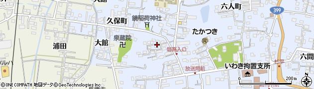 福島県いわき市平(道匠小路)周辺の地図