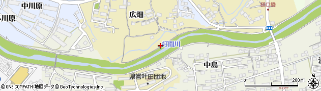 福島県いわき市好間町小谷作(ヲミカト)周辺の地図
