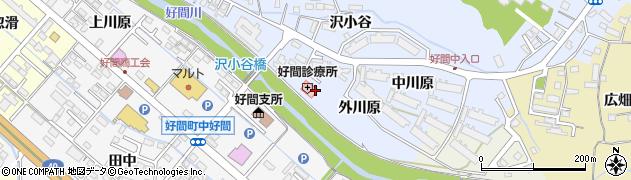 福島県いわき市好間町北好間(外川原)周辺の地図