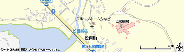石川県七尾市松百町(リ)周辺の地図