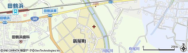石川県七尾市新屋町(ト)周辺の地図